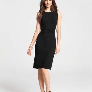 Ann Taylor black sheath dress